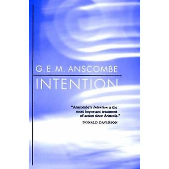 Intention (Paperback) by Anscombe G. E. M.