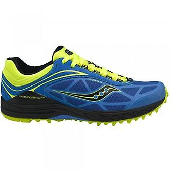 ProGrid Peregrine 3 Minimalist Trail Running Shoes Blue/Citron Mens