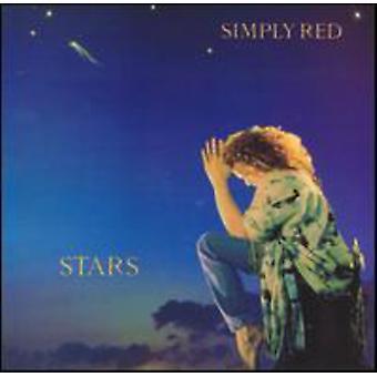 Simply Red - stjerner [CD] USA importerer