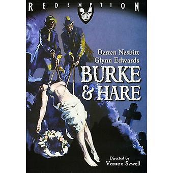 Burke & Hare [DVD] USA importerer