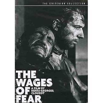 Lohn der Angst (1953) [DVD] USA import
