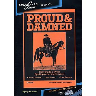 Proud & the Damned (1972) [DVD] USA import