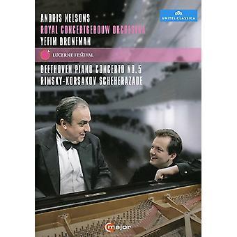 Lucerne Festival: Beethoven Rimsky-Korsakov [DVD] USA import