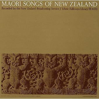 Maori låtar av nyazeeländskt - Maori låtar i Nya Zeeland [CD] USA import
