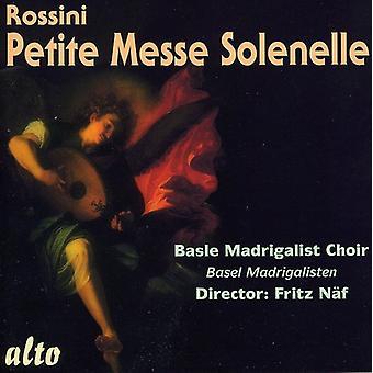 G. Rossini - Rossini: Petite Messe Solennelle [CD] USA import
