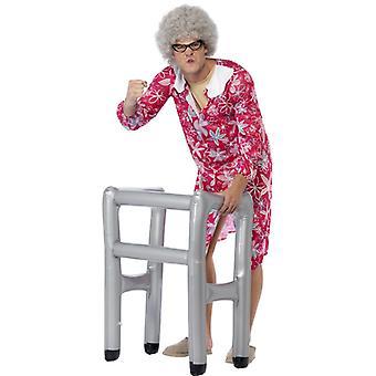 Inflatable Walker Grandma nursing home JGA prank Aufblasrollator