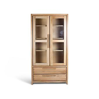 Direct Home Living Reno Oak Display Case