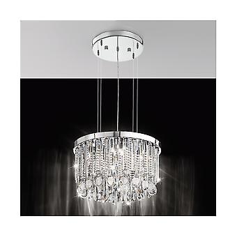 Eglo CALAONDA Crystal Clear Floating Ceiling Light Pendant