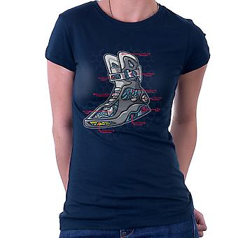 Magnatomy Back To The Future Women's T-Shirt