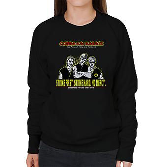 Ben fejemaskiner Karate Kid kvinders Sweatshirt