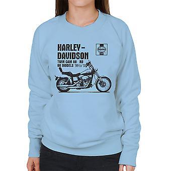 Haynes eiere Workshop manuell 2478 Harley Davidson Twin Cam 88 ND kvinners Sweatshirt