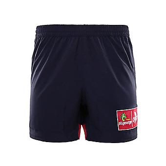 Gli short da training BLK Queensland Reds 2016 Rugby [Marina]