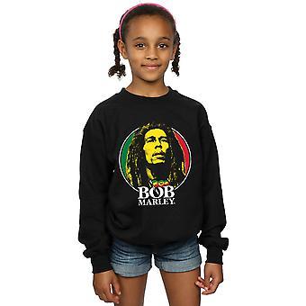Bob Marley flickor logotypen emblem Sweatshirt