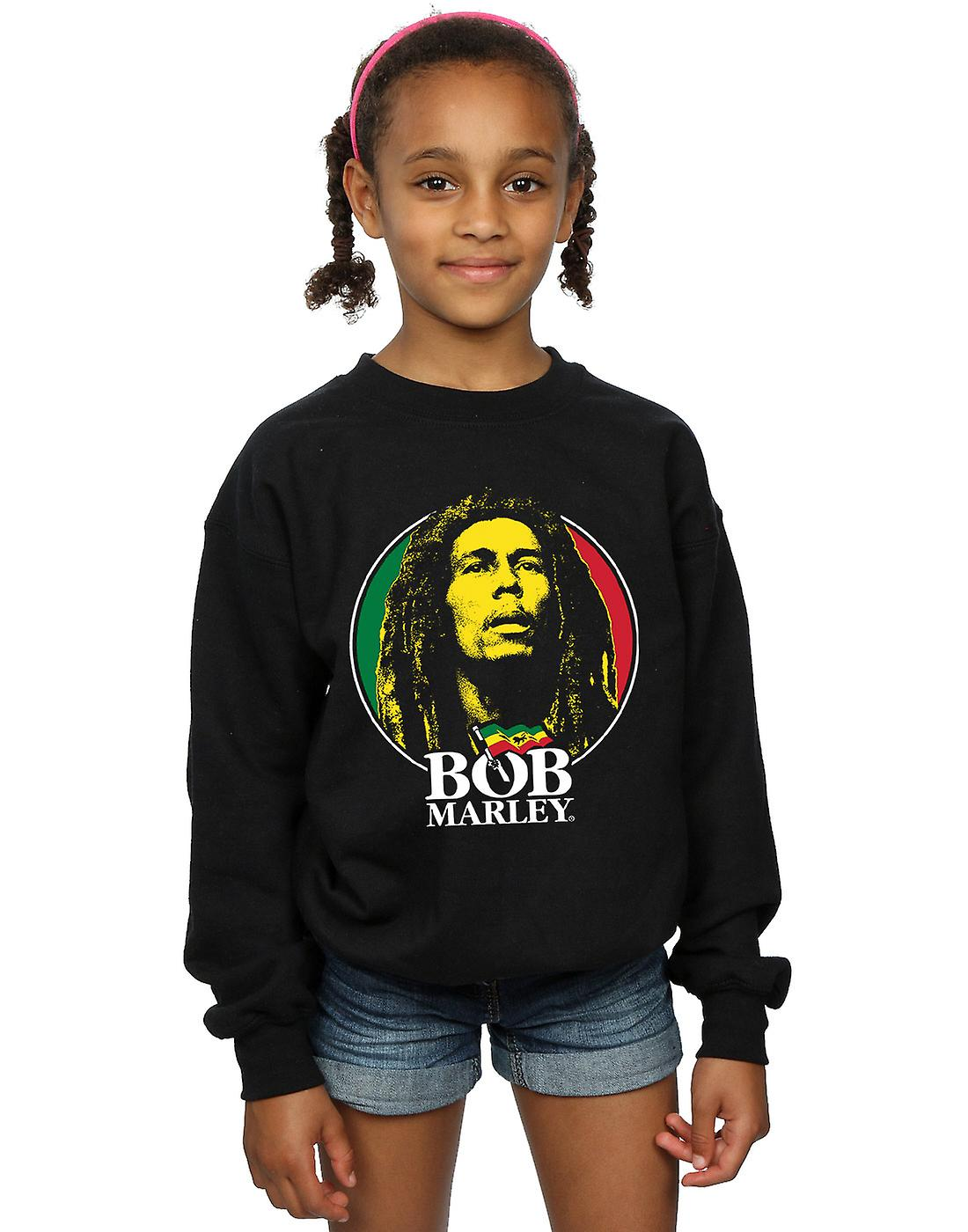 Bob Marley filles Logo insigne Sweatshirt