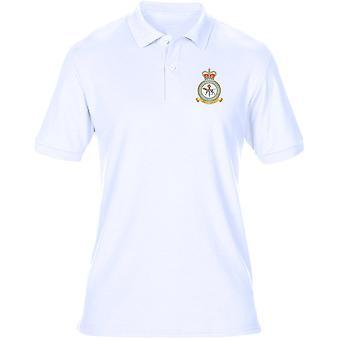 SABM Aerospace slaget Mgmt broderad Logo - officiella RAF Royal Air Force - Mens Polo Shirt