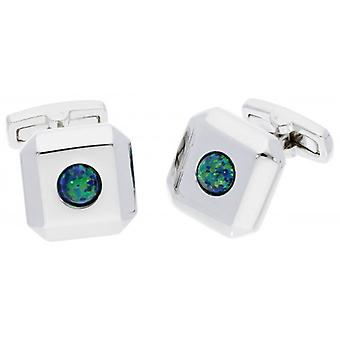 Duncan Walton Opal Luxury Cufflinks - Black Spirit