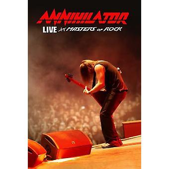 Annihilator - Live på Masters of Rock [CD] USA import