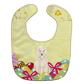 Carolines Treasures  BB6061BIB Easter Eggs Soft Coated Wheaten Terrier Baby Bib