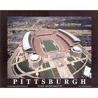 Pittsburgh Pennsylvania - Heinz Field (Poster Print von Mike Smith (28 x 22)