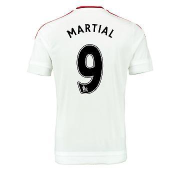 2015-2016 Man Utd Away Shirt (Martial 9) - Kids