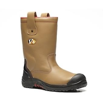 V12 VR690 Grizzly Tan Fleece Lined Rigger Boot EN20345:2011-S3 Ci Size 11