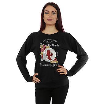 Disney Women's Beauty and the Beast Girl in the Castle Sweatshirt