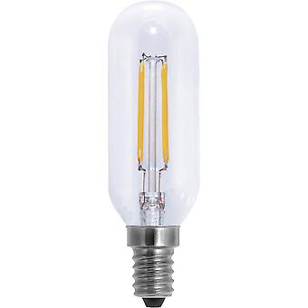 LED E14 Rod 4 W = 30 W Warm white (Ø x L) 32 mm x 105 mm EEC: A+ Segula Filament, dimmable 1 pc(s)