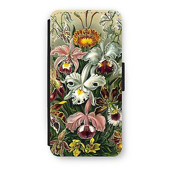 iPhone 5/5 s/SE フリップ ケース - ヘッケル Orchidae