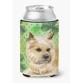 Carolines Treasures  BB9864CC Cairn Terrier St Patrick's Can or Bottle Hugger