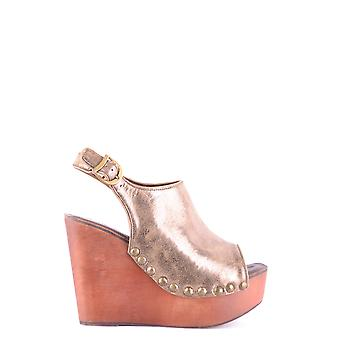 Jeffrey Campbell women's MCBI163040O bronze leather sandals