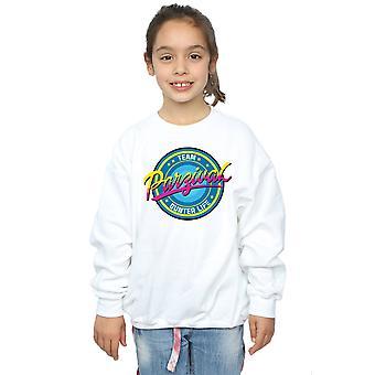 Ein Mädchen bereit Spieler Team Parzival Sweatshirt