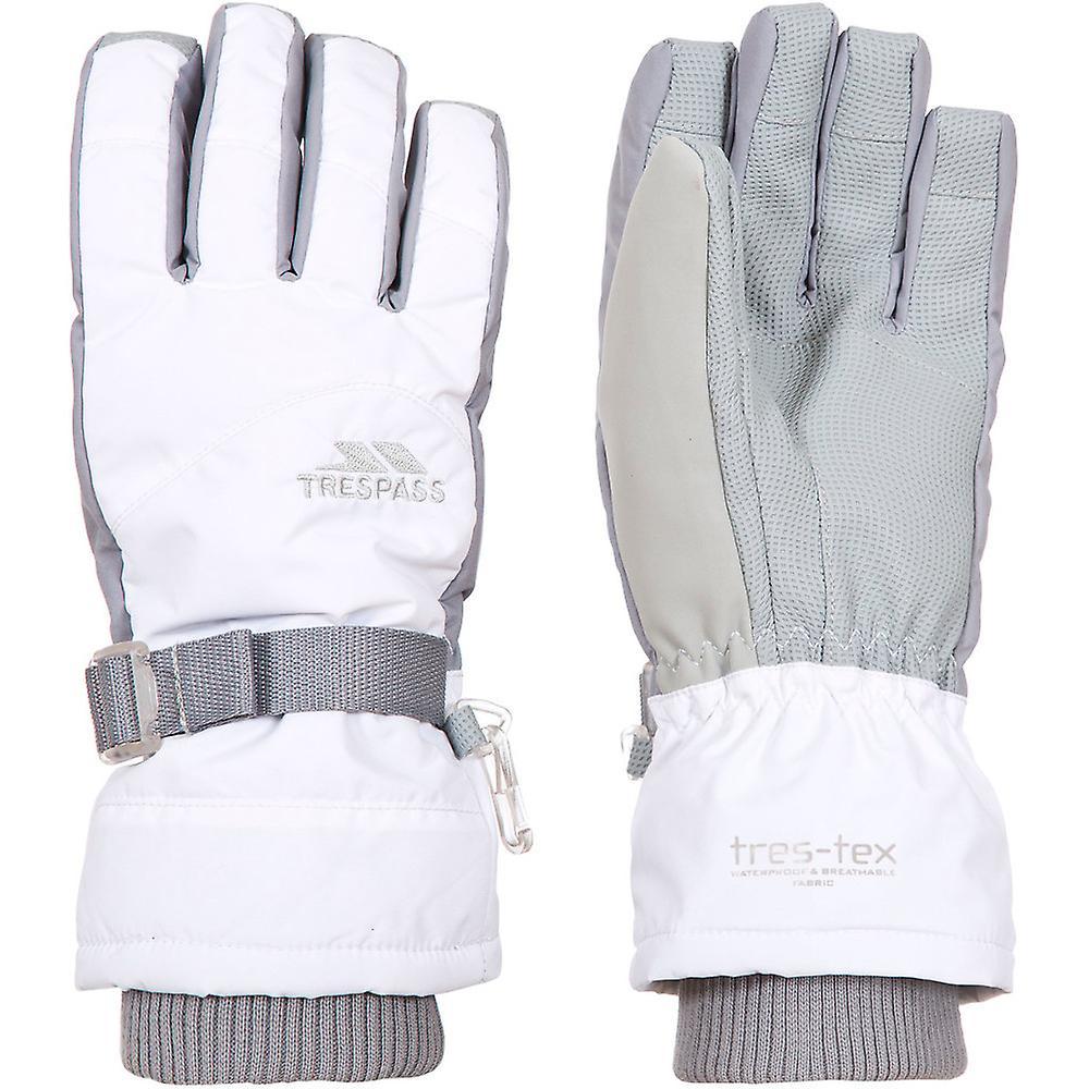 Trespass Boys Vizza II Waterproof Breathable Padded Shell Gloves