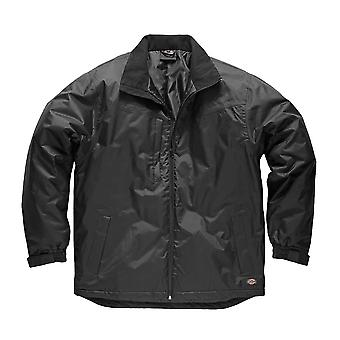 Dickies Mens Workwear Fulton Contract Jacket Black JW7006B