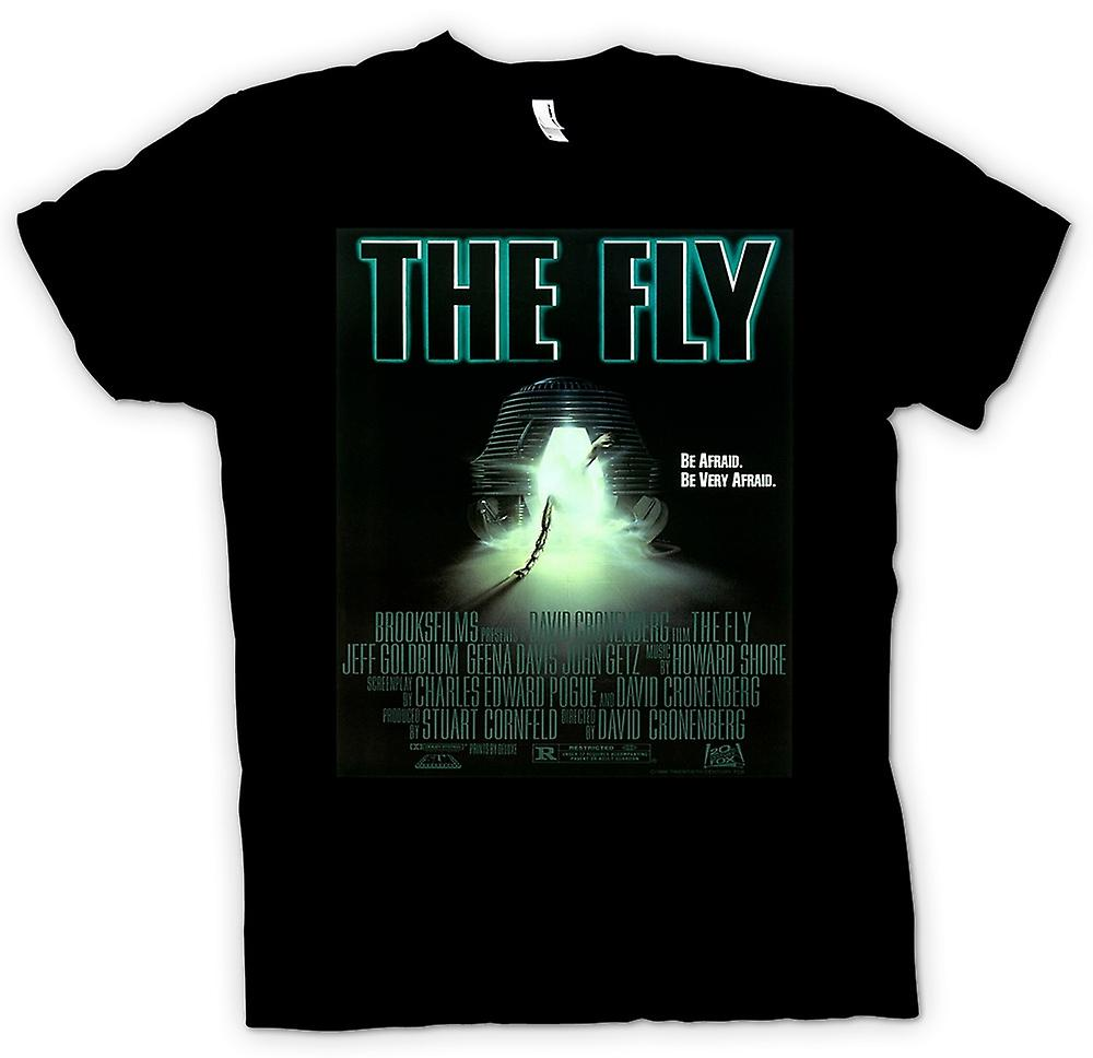 Womens T-shirt - The Fly - Cool Horror Movie