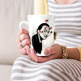 Człowiek Scary Creepy moda Nowa Biała herbata kawa Latte ceramiczny kubek 17 oz   Wellcoda