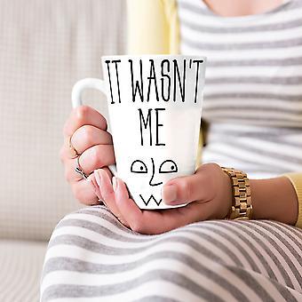 Was niet Me zeggen grappige nieuwe witte thee koffie keramische Latte Mok 17 oz | Wellcoda