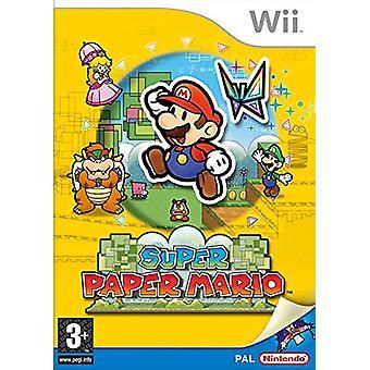 Nintendo väljer Super Paper Mario (Nintendo Wii)