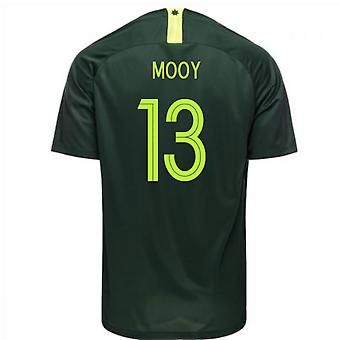 2018-2019 Australia Away Nike Football Shirt (Mooy 13)