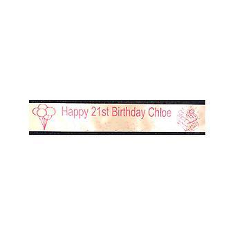 21 års fødselsdag skærf