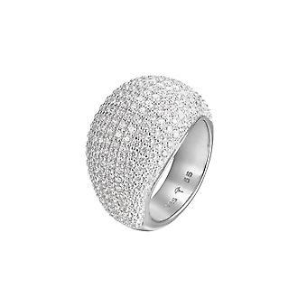 Joop women's ring silver zirconia Amy JPRG90734D