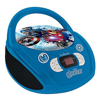 Lexibook Avengers Boombox Radio CD Player (Model No. RCD108AV)
