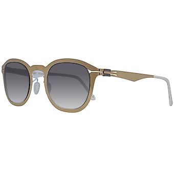 Greater than infinity sunglasses men's Gold