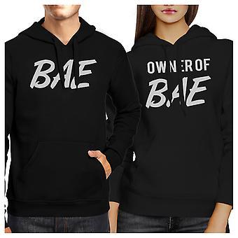 شركة بي أية أي ومالك مضحك Bae مطابقة هوديس الأسود لهدايا الأزواج