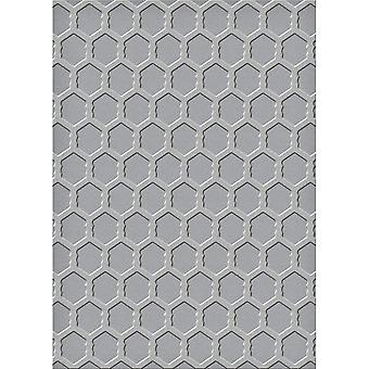 Spellbinders Embossing Folder Large-Chicken Wire