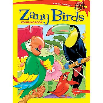 Dover Publications-Zany Birds Coloring Book