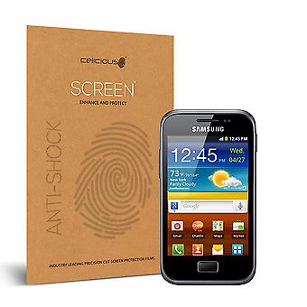 Celicious Auswirkungen Anti-Schock bruchsicher Screen Protector Film kompatibel mit Samsung Galaxy Ace Plus