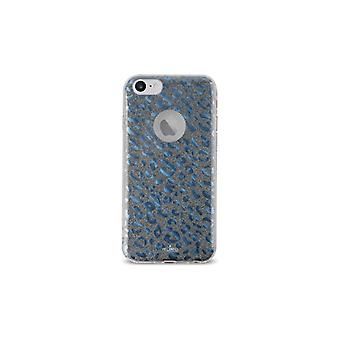 Puro iPhone 8/7/6/6S, Glitter Shine Leo Cover, blå