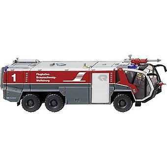 Wiking 0626 05 H0 Rosenbauer Fire-brigade-FLF Panther 6x6 airport Braunschweig Wolfsburg