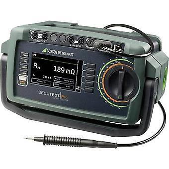 Gossen Metrawatt Secutest Pro Test meter Calibrated to DAkkS standards