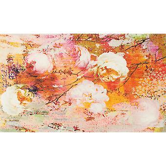 tvätt + torr kärleksfull Rose tvättbar matta